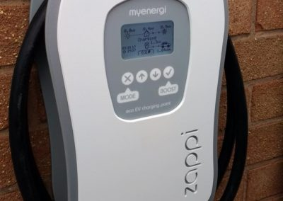Electric Vehicle charge point ZAPPi