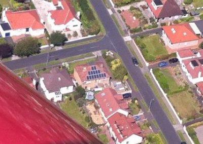 Solar Panel Aerial shot
